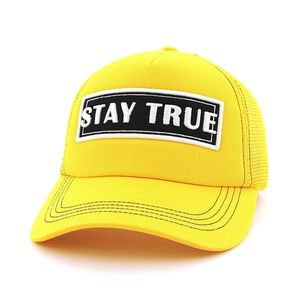 B180 Stay True 3 Unisex Cap Yellow