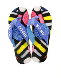 So Nu Licorice Men's Flip Flops