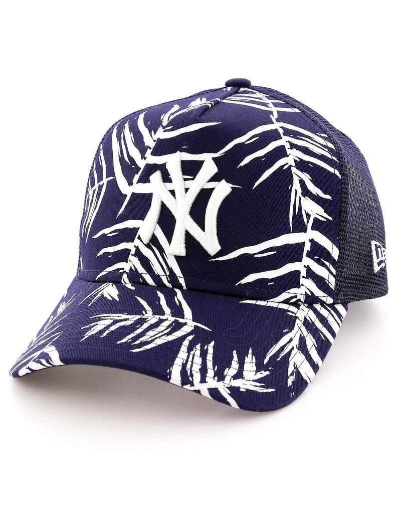 new era sandwash print ny yankees navy optic white cap. Black Bedroom Furniture Sets. Home Design Ideas