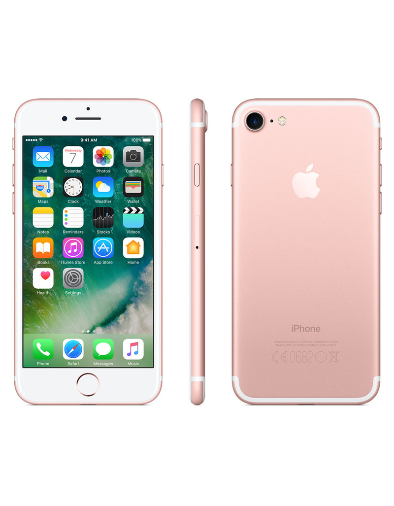 iphone 7 128gb rose gold iphone apple electronics accessories virgin megastore. Black Bedroom Furniture Sets. Home Design Ideas