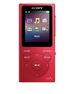 Sony NW-E394 8GB Red Walkman Mp3 Player