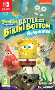 Spongebob Squarepants Battle For Bikini Bottom - Rehydrated - Nintendo Switch