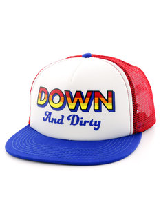 Official Down + Dirty Blue/Red/White Men Cap
