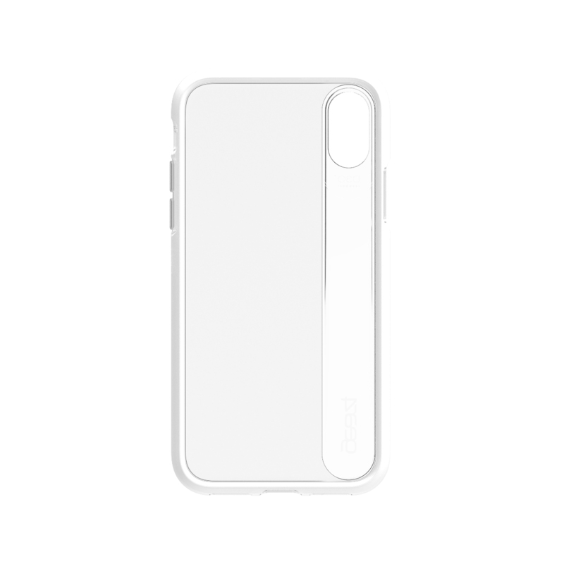 new concept a3a11 4d01f Gear4 Windsor Case Silver for iPhone X