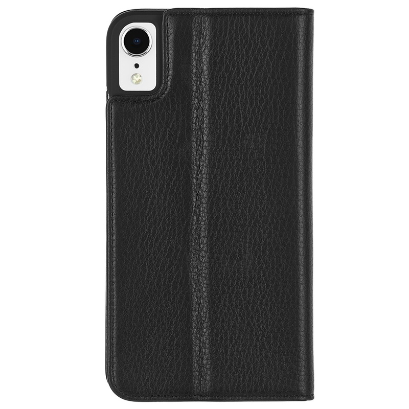 Case-Mate Barely There Folio Case Black for iPhone XR