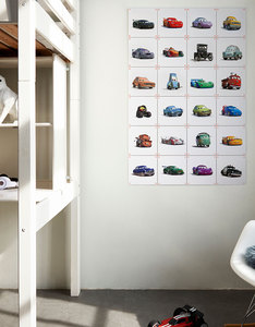 IXXI Disney Cars Collage Wall Decoration