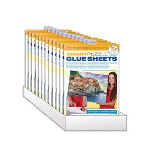 Eurographics Smart Puzzle Glue Sheets 12 Pack Pdq