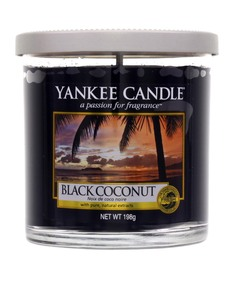 Yankee Candle Decor Small Pillar Black Coconut