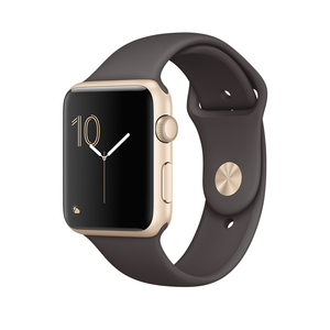Apple Watch Series 1 Sport Band Cocoa Gold Aluminium Case 42mm