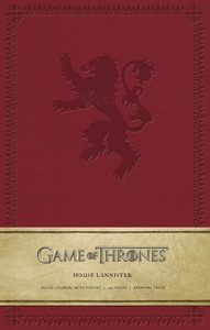 Game Of Thrones House Lannister Hardcover Ruled Journal Large