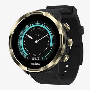 Suunto 9 Baro Gold Leather GPS Sports Watch