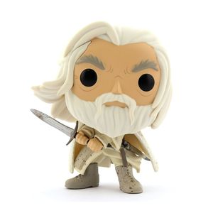 Funko Pop Movies Lord of the Rings Gandalf the White with Sword Vinyl Figure