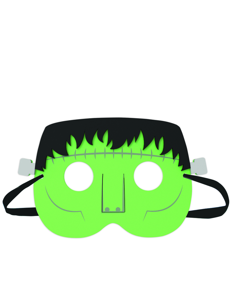 Kikkerland Party Masks Monster Set Of 5