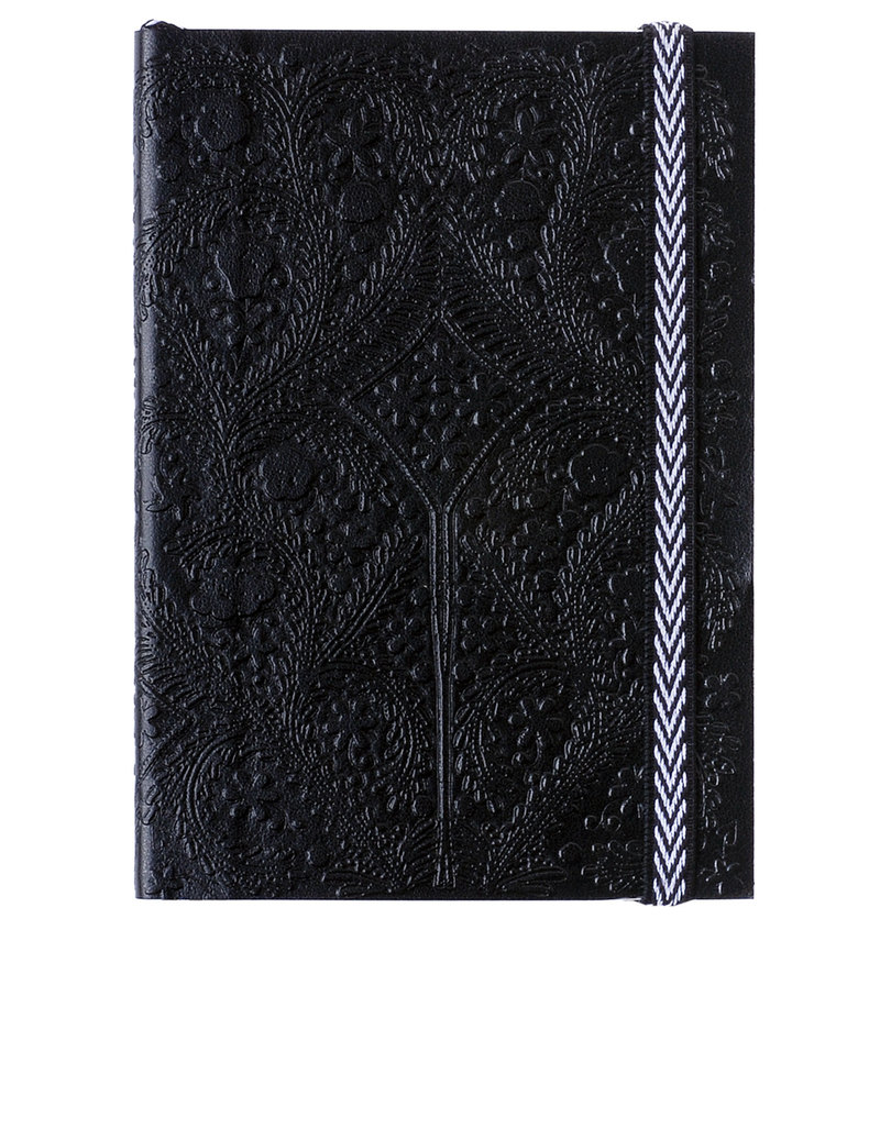 Libretto B5 Paseo Embossed Layflat Notebook Black
