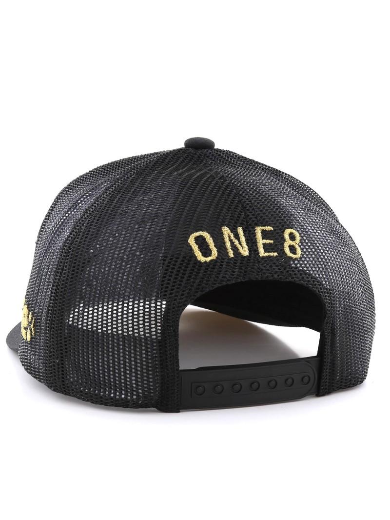 1955134a1c2520 ... One8 Wasta Calligraphy Curved Brim Trucker Hat Unisex Cap Osfa ...