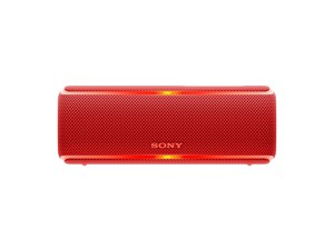 Sony SRS-XB21 Super Bass Portable Party Speaker Red