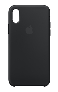 Apple Silicone Case Black for iPhone X