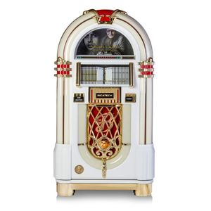 Ricatech Amitabh Bachchan Jukebox White & Gold