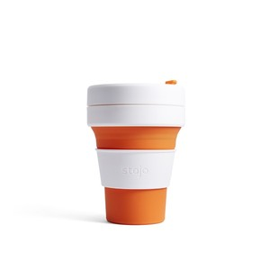 Stojo Pocket Collapsable Cup Orange 355ml