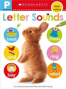Letter Sounds Pre-K Workbook: Scholastic Early Learners (Skills Workbook)