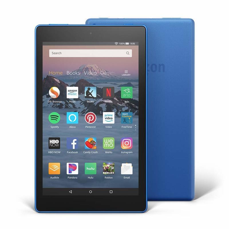 Amazon Fire HD 8 32GB Marine Blue Tablet with Alexa