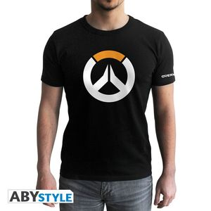 Abystyle Overwatch Logo Men's T-Shirt Black