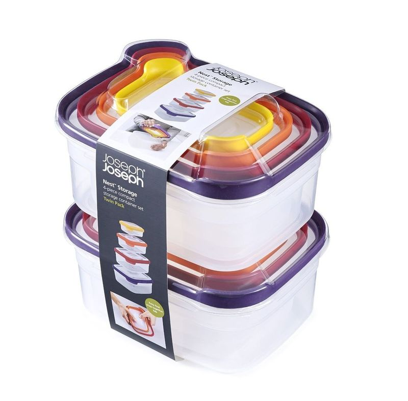 Joseph Joseph Nest Storage Containers [2x Sets of 4]
