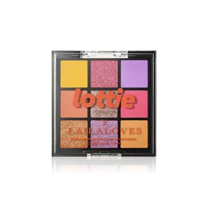 Lottie Laila Loves Palette Neon 9 Shade E/S Palette Ibiza Yellow & Pink