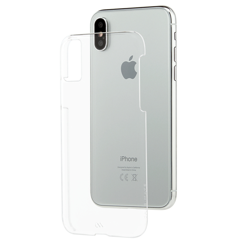 low priced a80e7 e40f0 Case-Mate Barely There Case Clear for Iphone X