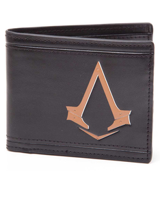 Assassins Creed Syndicate Bi-Fold Wallet With Embossing Black