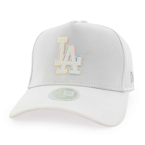 New Era Women's Iridescent La Dodgers Lady's Cap White Osfa