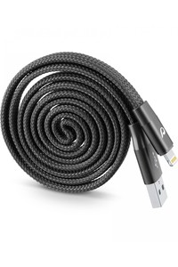 Cellularline MFI Lightning Cable Rewindable Black