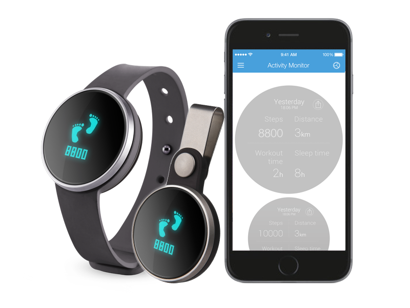Ihealth Am3S Wireless Activity/Sleep Tracker