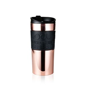 Bodum Flip Black Copper Travel Mug SS 0.35L