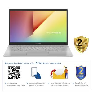 "ASUS VivoBook A420FA-EB123T Laptop i7-8565U/8GB/256 GB SSD/14"" FHD/Windows 10/Silver"