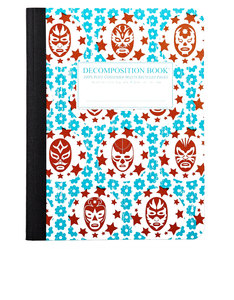 Decomposition Notebook Lucha Libre Two Color [Large]