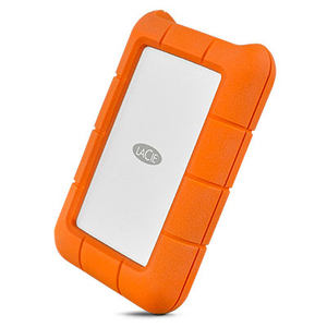 LACIE RUGGED 2TB USB-C PORTABLE DRIVE