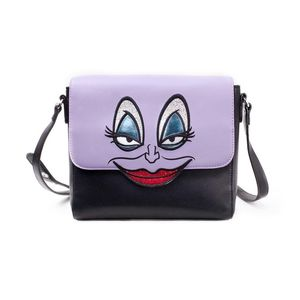 Difuzed Disney Little Mermaid Ursula Croco Shoulder Bag