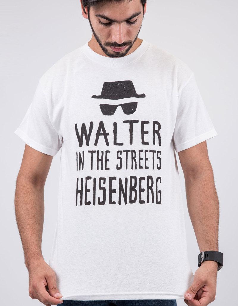 Zazzle t shirt design size - Breaking Bad Walter Streets Heisenberg Sheets White T Shirt