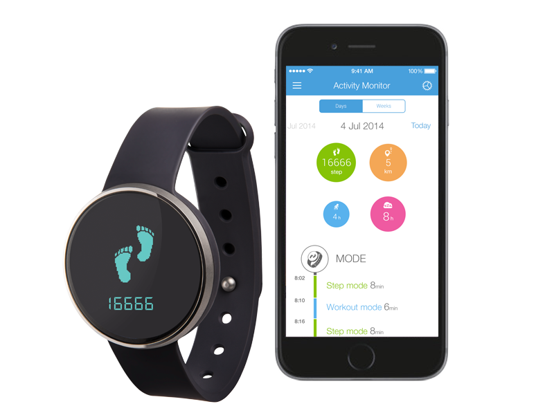 Ihealth Am3S Wireless Activity/Sleep Tracker | Activity ...