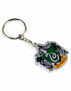 Harry Potter Slytherin Crest Keyring