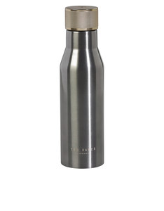 Ted Baker Knurled Lid Gunmetal Water Bottle