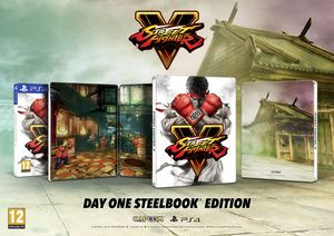 Streetfighter V Steelbook Edition Ps4