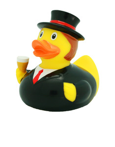 Lilalu Groom Rubber Duck