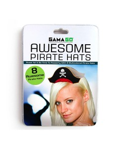 Gamago Pirate Party Hats