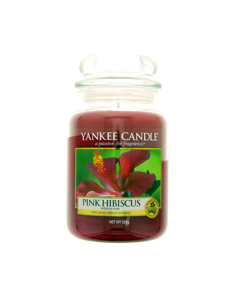 Yankee Candle Classic Large Jar Pink Hibiscus