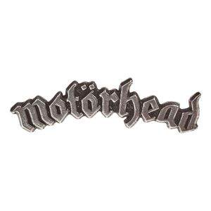 Motorhead Logo Pin Badge Silver