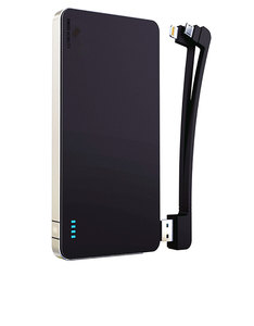 Swiss Mobility Universal 5000Mah W/3 In 1 Cable