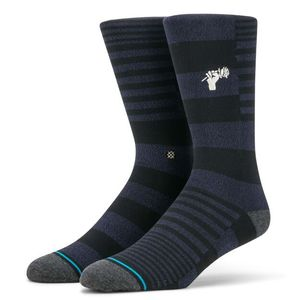 Stance Power Flower Unisex Socks Black