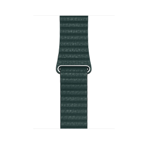 APPLE 44MM LEATHER LOOP FOREST GREEN FOR APPLE WATCH LARGE
